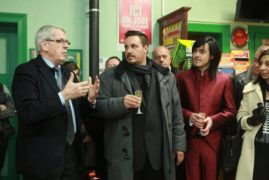 """Collation au Bar PMU """"Sans Souci"""" rue du Ladhof"""